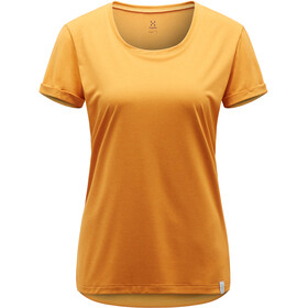 Haglöfs Ridge Hike Tee Dame desert yellow